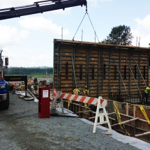 Concrete Retaining Walls, Blocks & Barriers | Train & Transportation Company | Can Ridge Industries Ltd.
