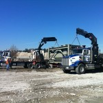 Moving Equipment Through Machinery Crating