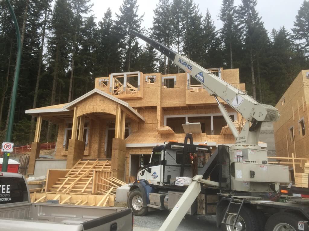 Crane Rentals in Vancouver