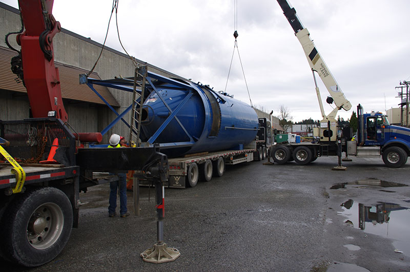 Heavy Marchinery Moving and Installation Services BC | Can Ridge Industries Ltd.