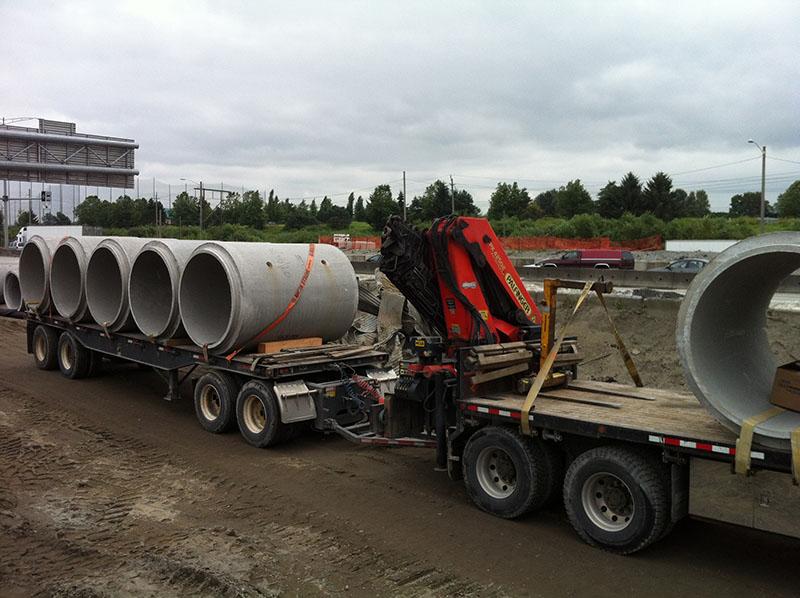 Heavy Equipment Moving in Delta