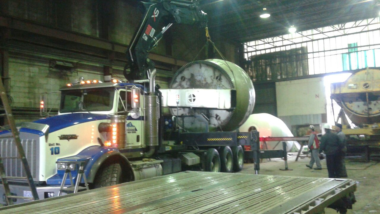 Transport Industrial Ovens, Boilers, Chillers, CNC Machinery and More | Can Ridge Industries Ltd.