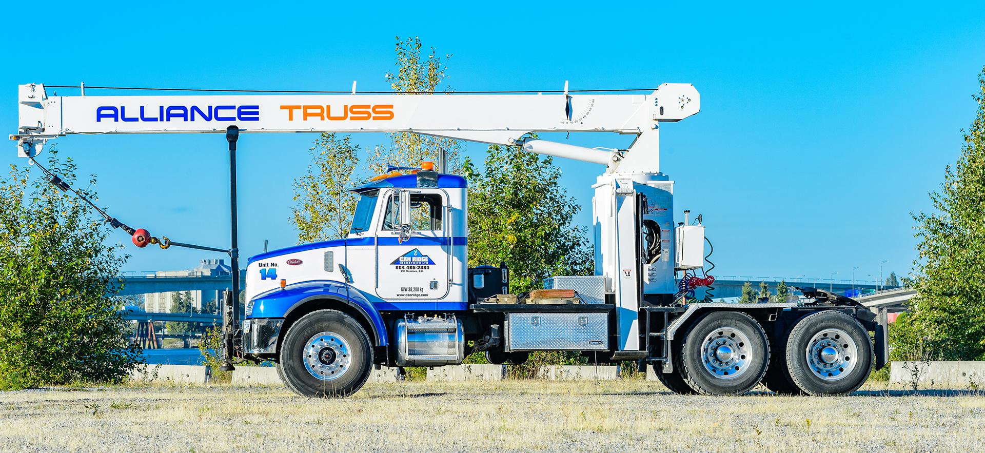 Concrete Retaining Walls, Blocks & Barriers | Train & Transportation Company | Can Ridge Industries Ltd. Unit 14 Marketing Photo