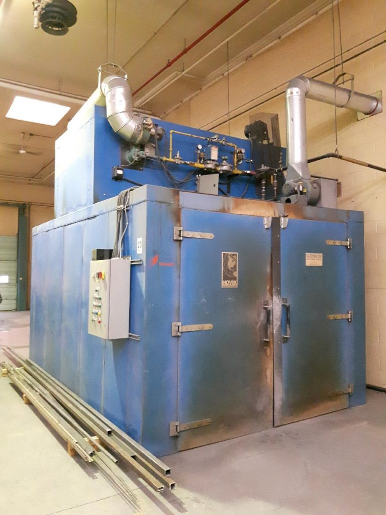 The Details of Industrial Moving- Spray Booth and Oven Example