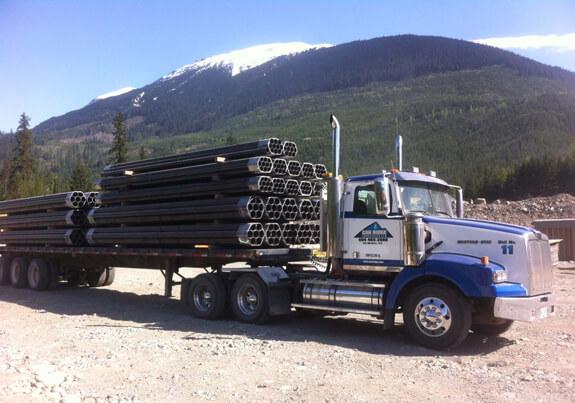 Large-Scale Transportation Logistics | Can Ridge Industries Ltd.