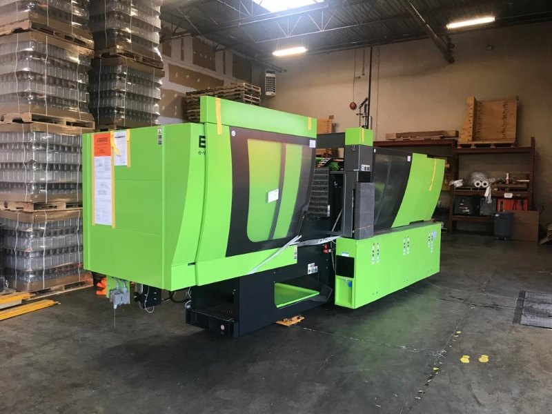 Plastic Green Molding Machine Move