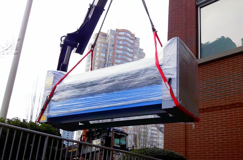 Move of a Commercial Ironer