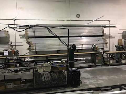 Manufacturing Facility Move of Materials Racks