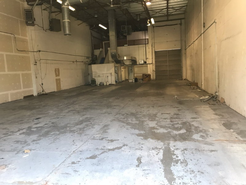 Emptied Manufacturing Facility After Move