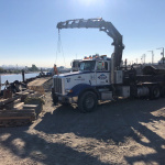 What is a mobile crane truck?