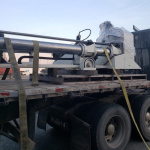Industrial Machine Moving in the Lower Mainland