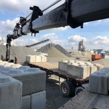 Concrete Block Moving