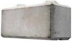 Concrete Retaining Walls, Blocks & Barriers   Train & Transportation Company   Can Ridge Industries Ltd. Octa-Bloc, large block retaining wall, concrete precast blocks.