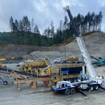 Industrial Plant Setup in the Fraser Valley